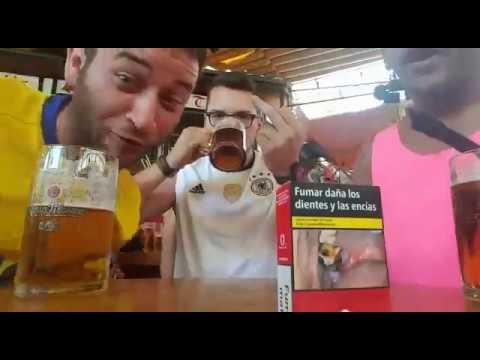 Schachteln im Bierkönig