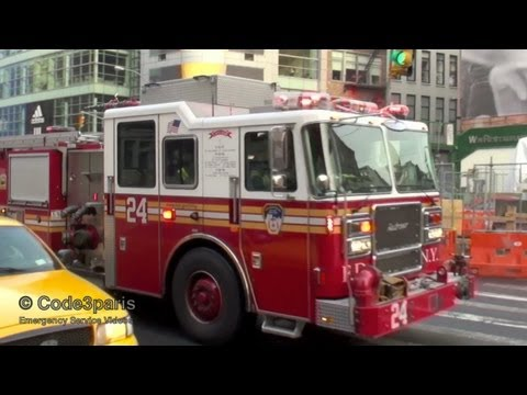 FDNY Engine 24 + Tower Ladder 9