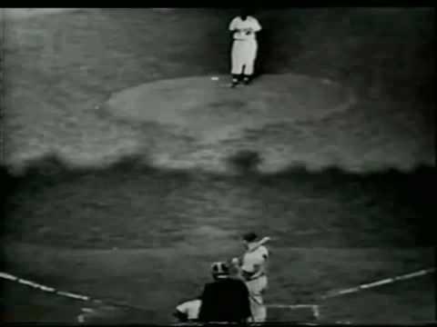 Game 7 1952 World Series Mickey Mantle Home Run