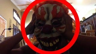 VLOG #4: I HAVE A CLOWN MASK!!