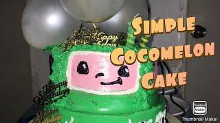 Simple Cocomelon cake making