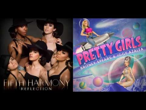 Fifth Harmony + Britney Spears & Iggy Azalea - Worth It/Pretty Girls (Mashup)
