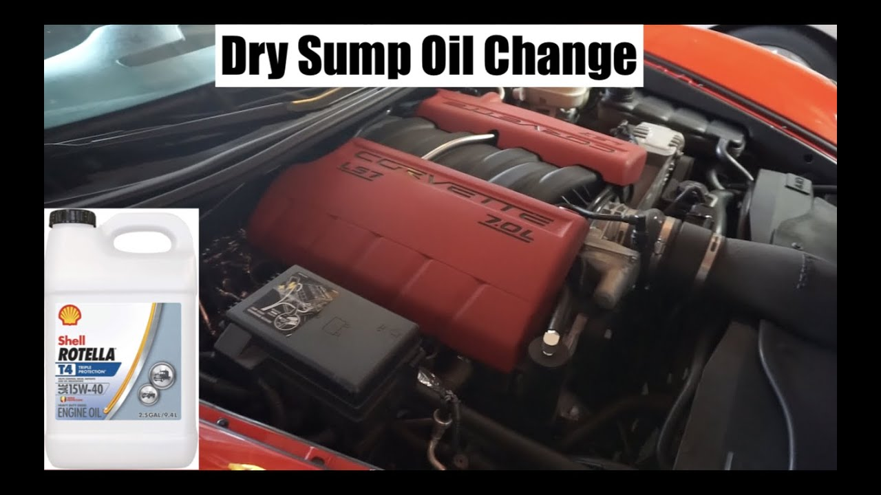 How To Change Your Oil On A C6 Z06 Ls7 Dry Sump Youtube