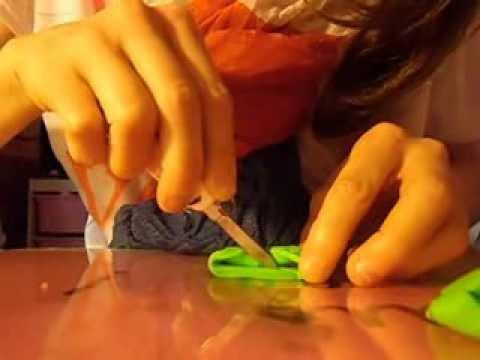 tuto 1 comment faire un noeud de papillons en pate fimo