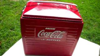 1950s Coca Cola Cooler, WOW... Hey Coke Collectors...Super Condition---For Sale!