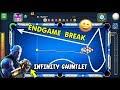 I Made The AVENGERS ENDGAME Golden Break In 9 Ball Pool..(INFINITY GAUNTLET FUN)