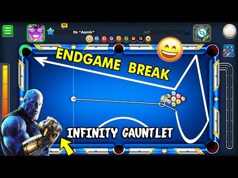 I Made The AVENGERS ENDGAME Golden Break In 9 Ball Pool..(INFINITY GAUNTLET FUN) thumbnail