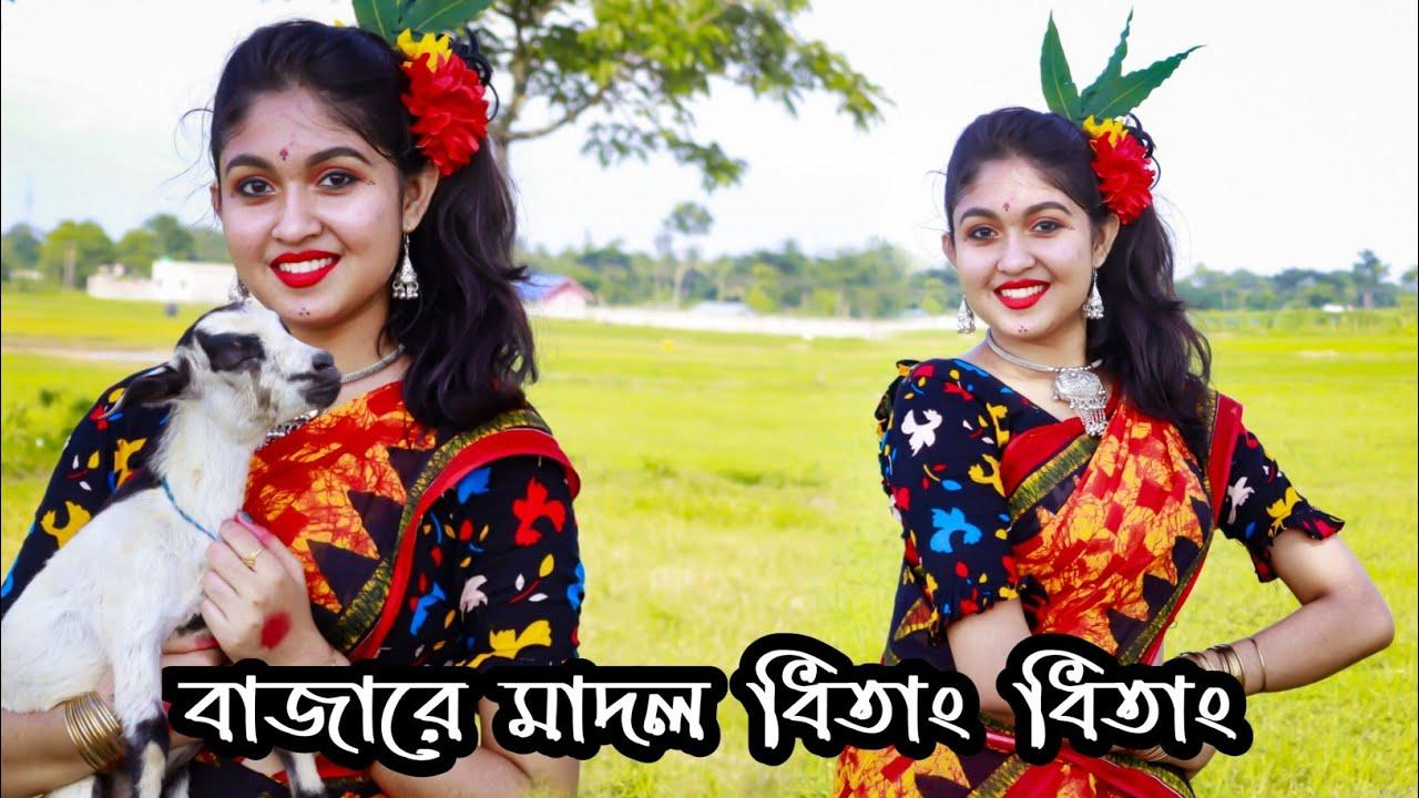 Bajere Madol Dhitang Dhitang | বাজেরে মাদল ধিতাং ধিতাং | Folk Dance | Bengali Folk Song|Dancestarmou