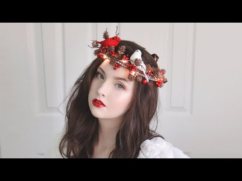 Light Up Holiday Crown - Tutorial