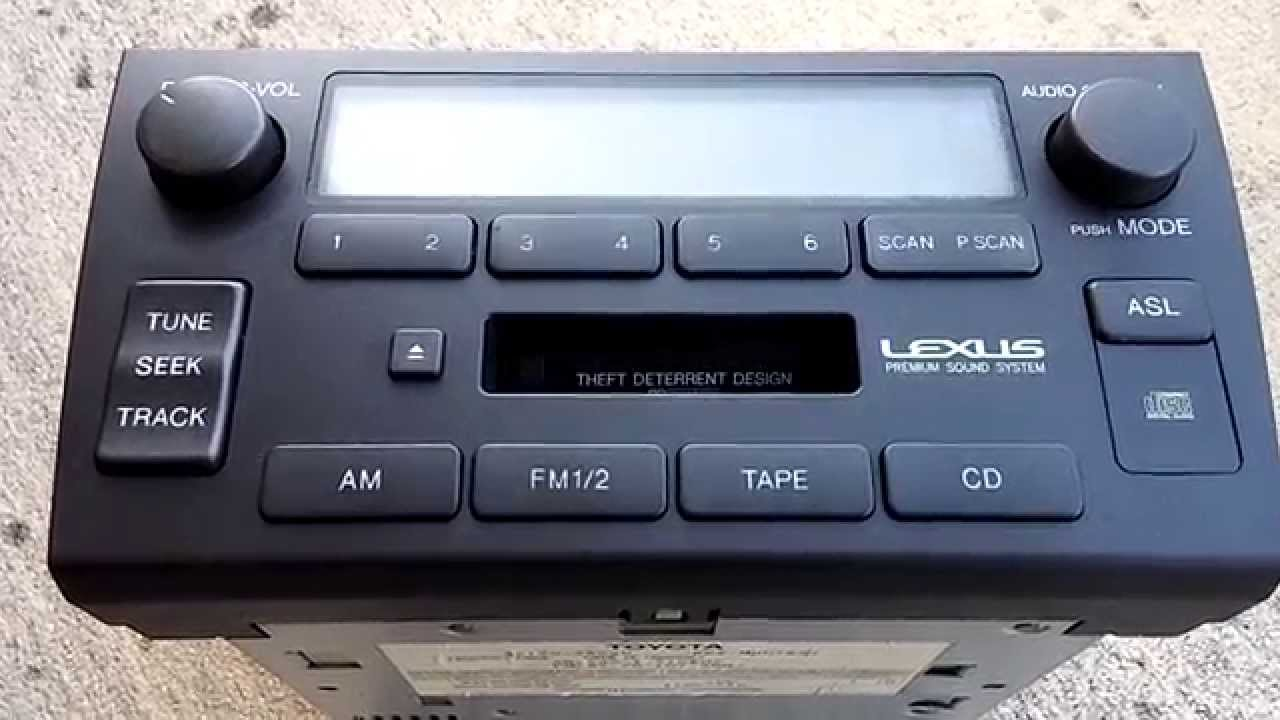 small resolution of lexus gs300 radio lcd display issues fixed