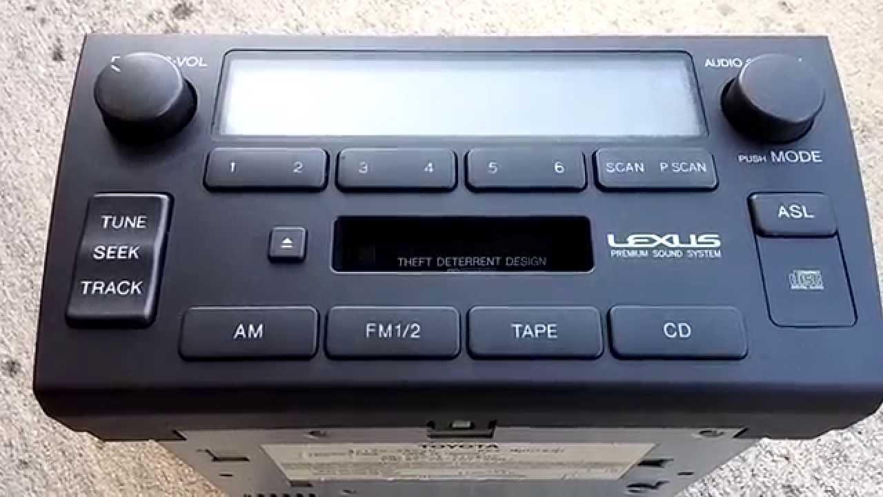 lexus gs300 radio lcd display issues fixed [ 1280 x 720 Pixel ]
