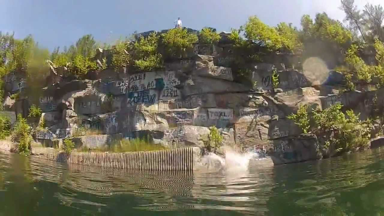 Westford Ma Quarry Jumpin Youtube