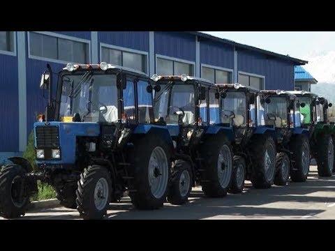 Тракторы класса люкс из Таджикистана