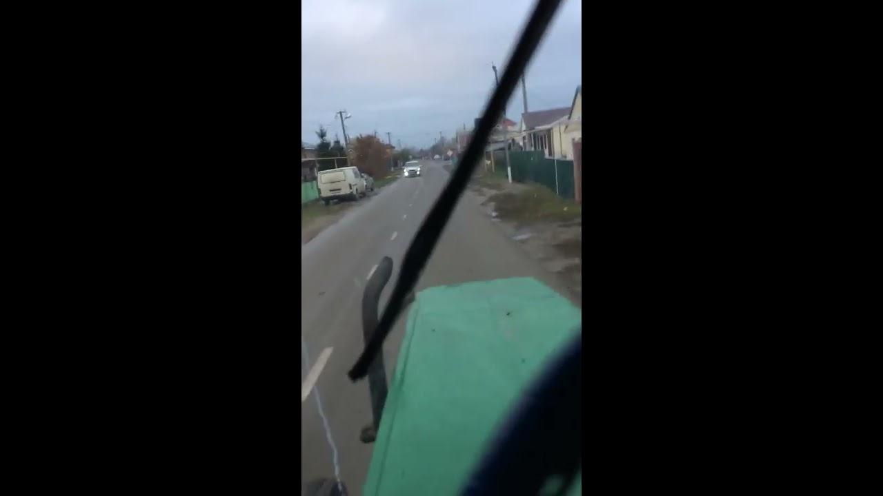 Как ездить на тракторе т-40, как поехать на тракторе первый раз. Органы управления трактора