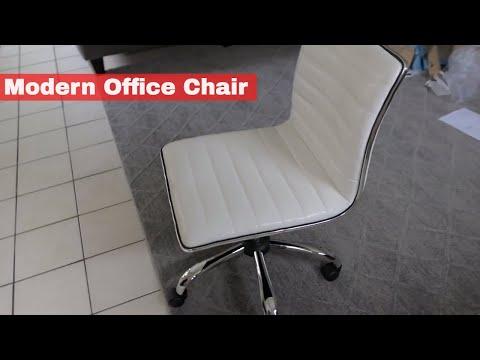 Modern Office Chair – White