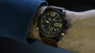 NAVIFORCE NF9095M Men Dual Movt Watch - Everbuying.com