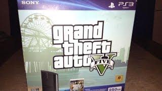 UNBOXING: PS3 Edicion Especial GTA V 250 GB