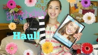 My Birthday Haul! | 2014 | delsbeautygalore Thumbnail