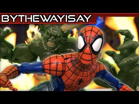 2018 Marvel Spider-Man Stop Motion Animation VS Green Goblin - 2018 Marvel Spider-Man Stop Motion Animation VS Green Goblin