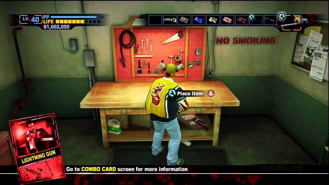 Dead Rising 2 Off The Record Laser Gun Boomstick Laser Sword