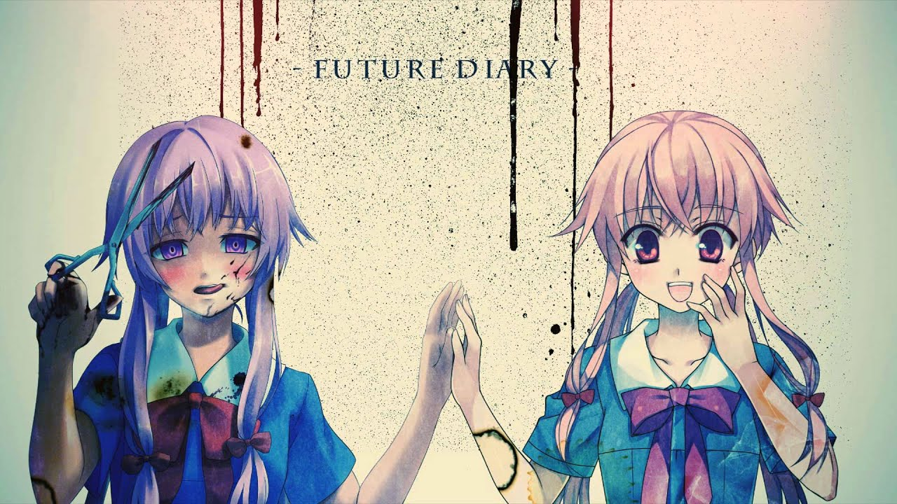 Image result for Mirai Nikki  (The Future Diary)