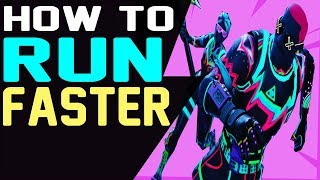 How to RUN FASTER in Fortnite Battle Royale | Get a BOOST WHILE RUNNING