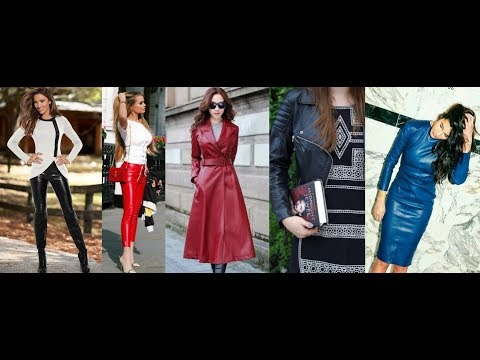 Prepare Fall 2018&2019 - Faux Leather Outfit Ideas in LOOKBOOK 4