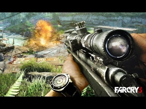 Far Cry 3 - Bull's Eye (SVD Sniper Challenge)