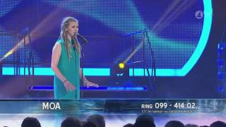 Moa Lignell - Nothing Compares 2 U (Final) - Idol 2011
