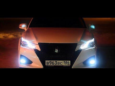 Toyota Crown Hybrid - скромная ответка Омску из г. Лянтор