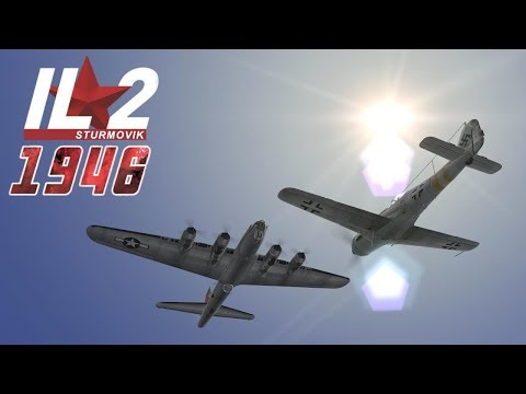 Full IL-2 1946 mission: Dora Neun Raw Footage