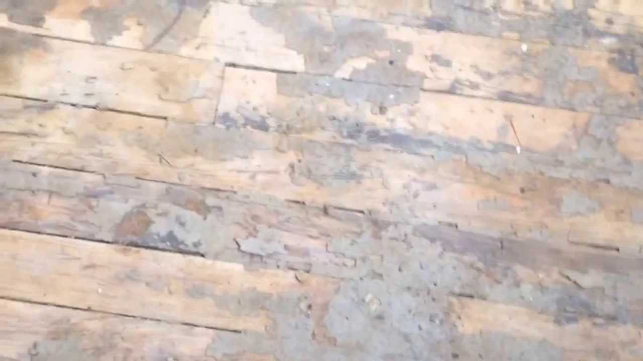 Resurfacing Hardwood Floors Without Sanding Part - 46: How To Refinish Soft Pine Floors Without Sanding - YouTube