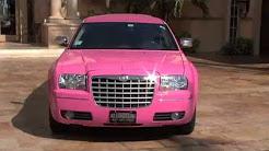 Pink Chrysler Limo - Limousine Rentals - Price 4 Limo