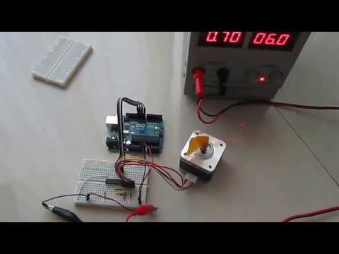 Using the uln2003a transistor array with arduino funnycat tv for Uln2003 stepper motor driver board tutorial