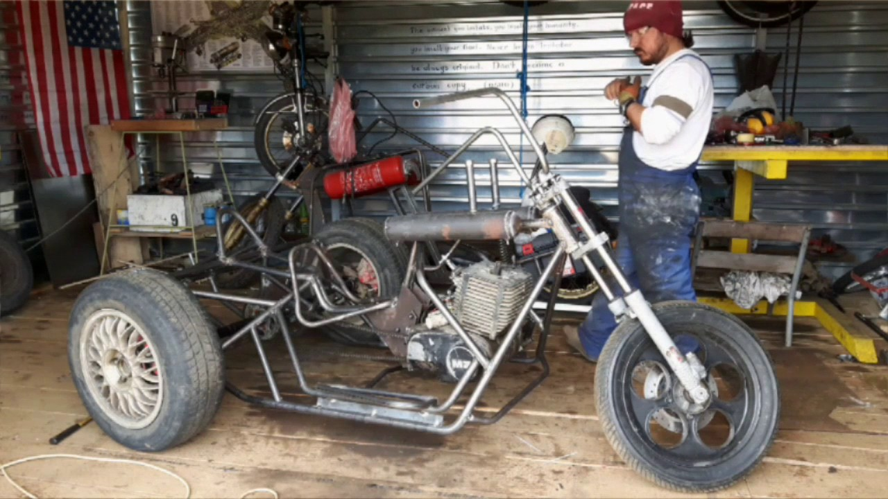 homemade trike motorcycle | Reviewmotors.co