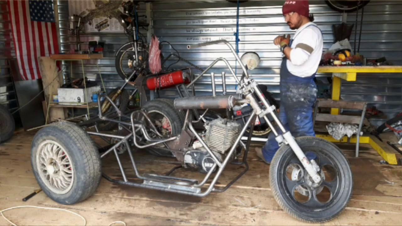 Trike Homemade H A M M E R Motorcycle Garage Youtube
