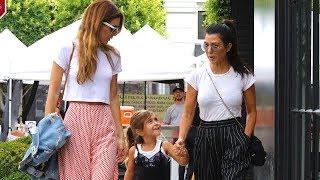 Kourtney Kardashian And Penelope Spend A Sunday Together