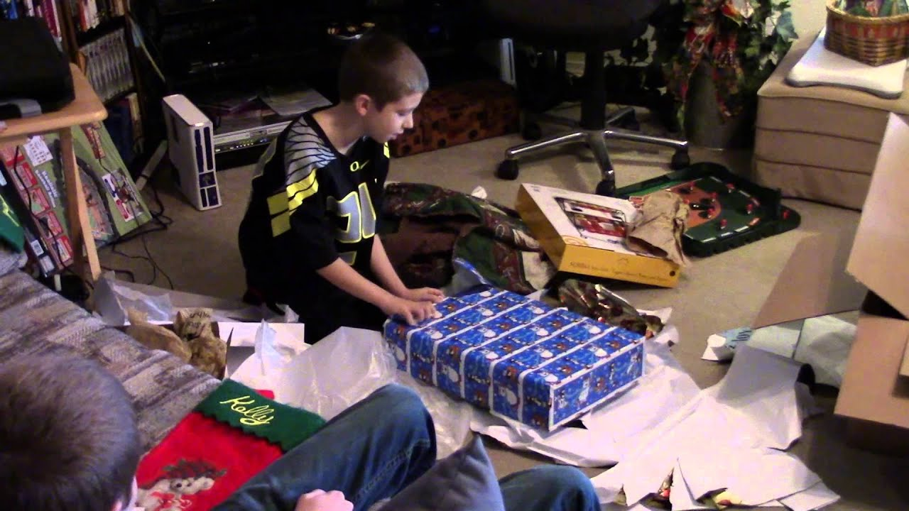 Kaleb Gets a PS4 For Christmas 2014 - YouTube