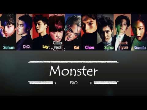 EXO - Monster | Sub (Han - Rom - Español) Color Coded Letra