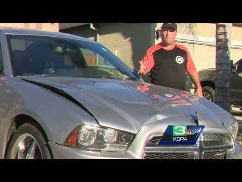 Car thefts, kidnapping in Yuba City leads to 3 crashes involving 14 vehicles