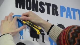 видео Трафареты для стен под покраску: оригинальный и модный дизайн