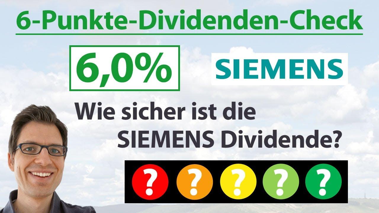 Siemens Aktie Analyse