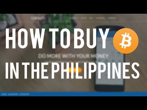 How to buy BITCOINS in Philippines