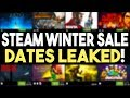 STEAM Winter Sale 2018 Dates LEAKED! Get a EPIC Humble Bundle NOW!