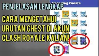 PENJELASAN LENGKAP CARA MELIHAT URUTAN CHEST DI AKUN CLASH ROYALE KALIAN! CLASH ROYALE INDONESIA!
