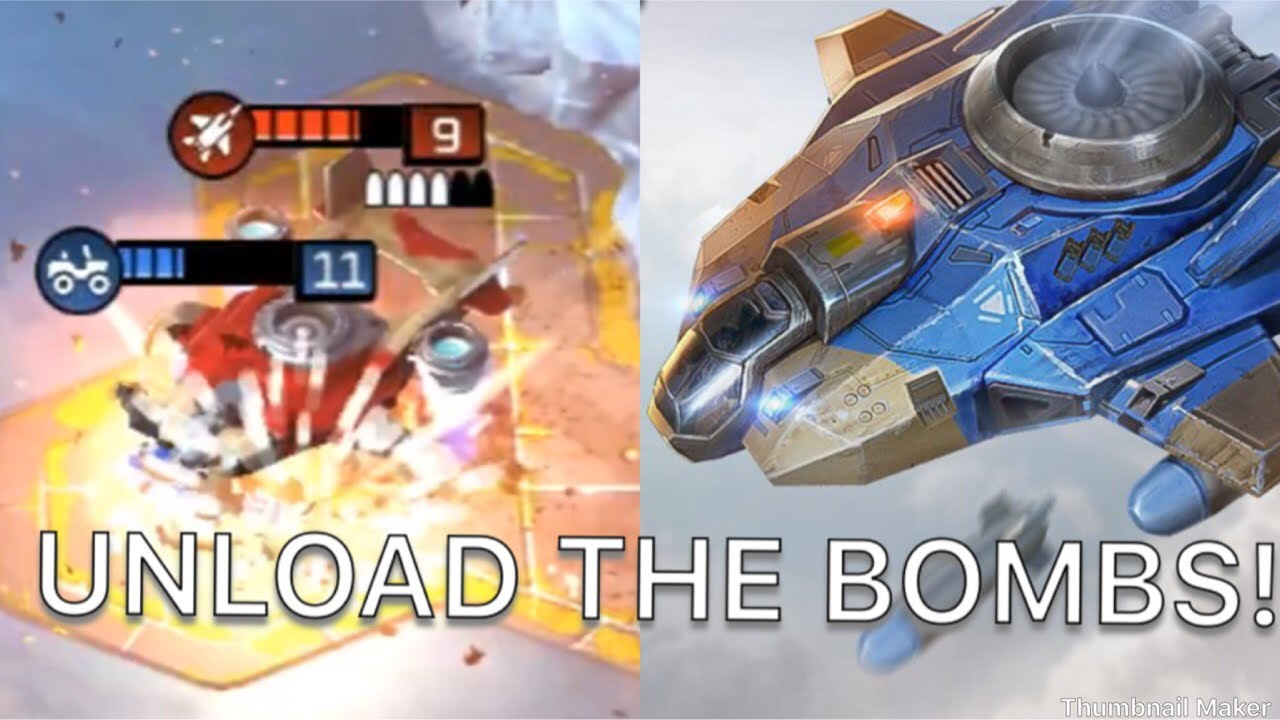 Command and Conquer: Rivals GDI ORCA BOMBER BOMBS AWAY!
