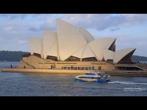 4K Circular Quay Sydney Opera House  AUSTRALIA Part 33 オーストラリア