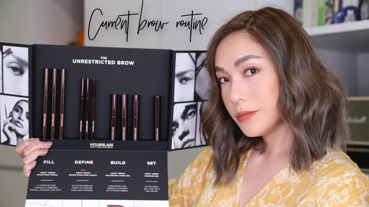 DAILYCHERIE : Current brow routine with Hourglass Unrestricted brows คิ้วสวยกับ Hourglass