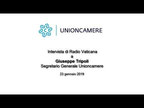 23/01/2019 - Radio Vaticana - Intervista al segretario generale Giuseppe Tripoli