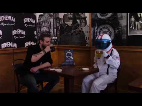 A Little, Brown astronaut interviews SPACEMAN author Jaroslav Kalfar